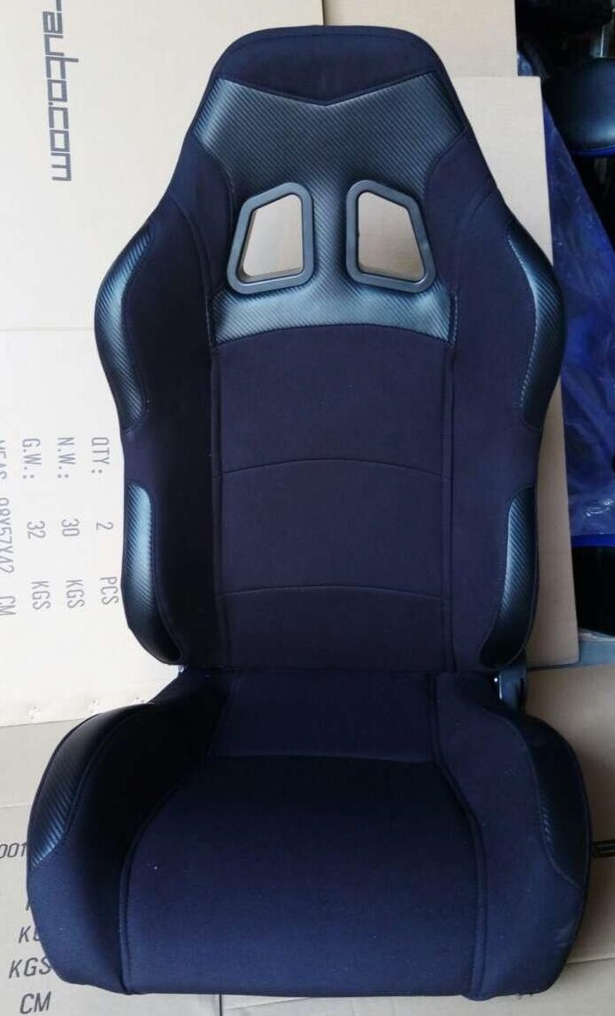 Sparco Style Sports Car Seat , Reclining Racing Seats Classic Design