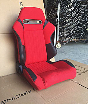 Comfortable Sports Car Seats / Universal Racing Seats With Single Slider JBE1042